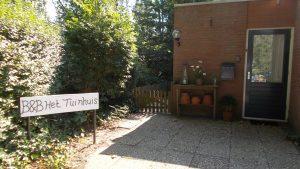 Ingang Het Tuinhuis